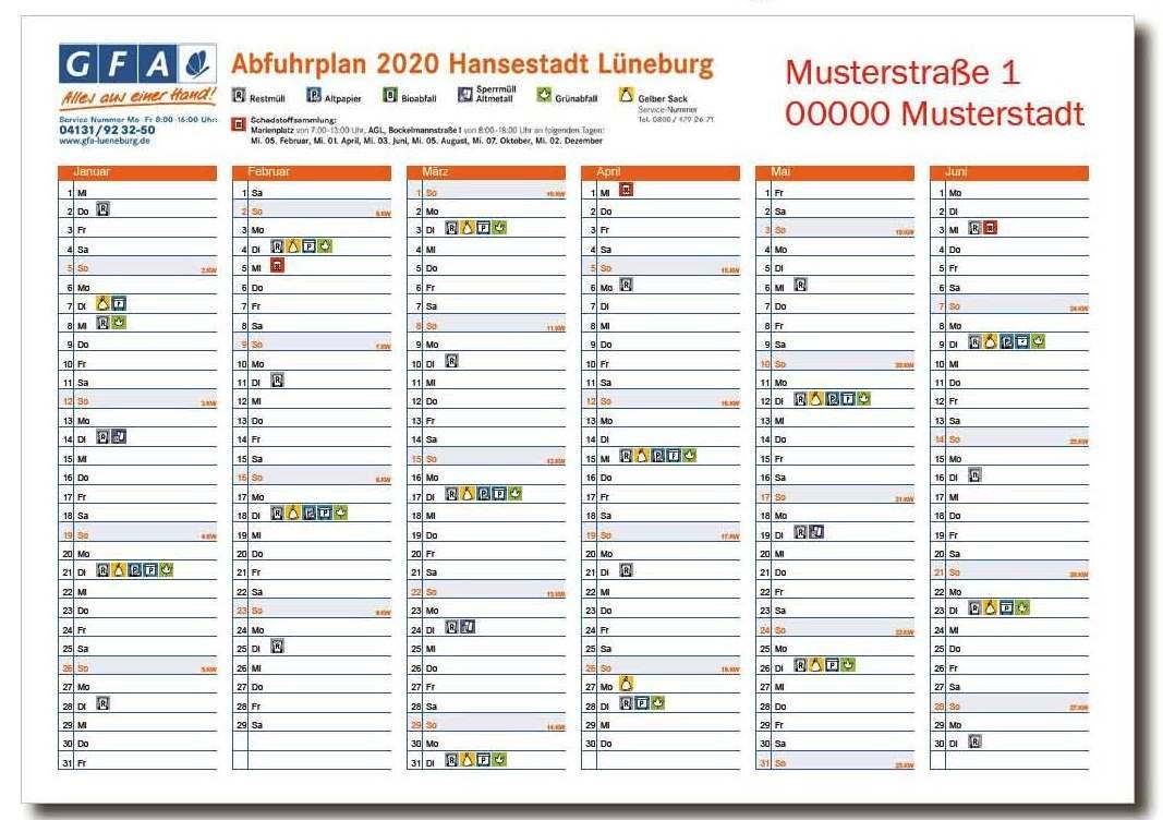 abfuhrkalender hamburg 2020